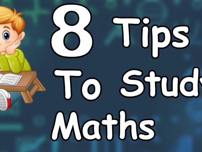 Helpful hints on a mathematics test