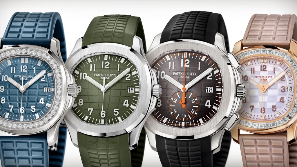 Patek Philippe | Aquanaut Collection | Elegant Sport Watches