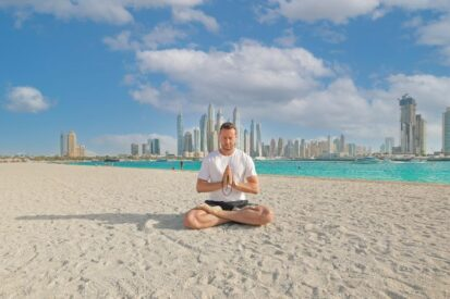 Yoga in Dubai: Palm West Beach's Key to Calmness