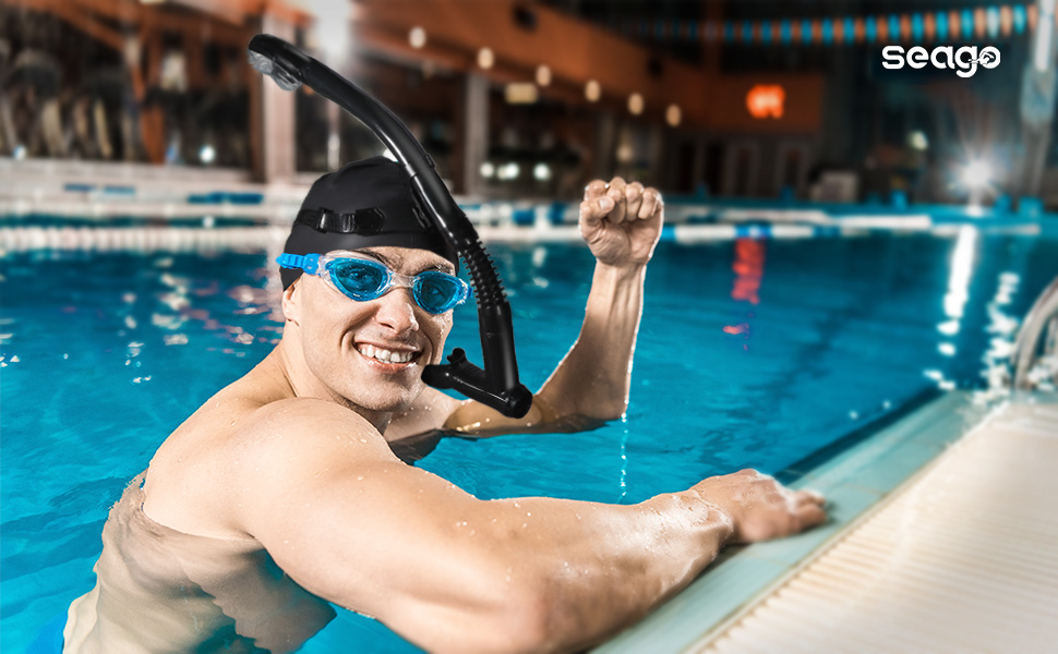A picture containing sport, water, person, swimming  Description automatically generated